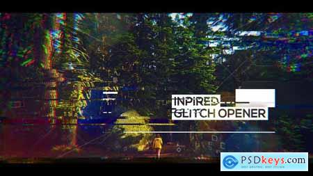 Videohive Glitch Inspired Opener