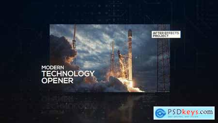 Videohive Technology Modern Opener
