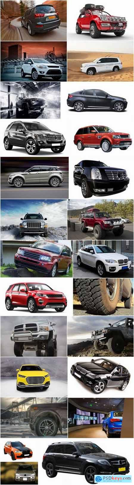 Jeep SUV big wheel dirt luxury car 25 HQ Jpeg
