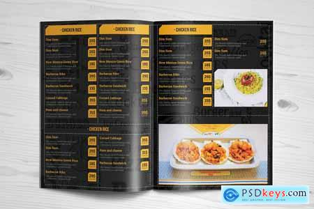 Special Food Menu Brochure -12 Pages 3816482