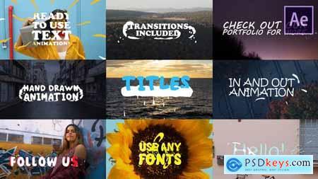Videohive 2d Lyric Titles