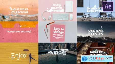 Videohive Liquid Titles Collection