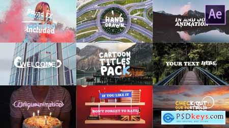 Videohive Cartoon Titles Pack