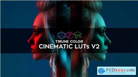 Videohive Triune Color Cinematic LUTs V2