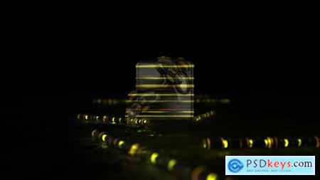 Videohive Glow Sticks Logo Reveal