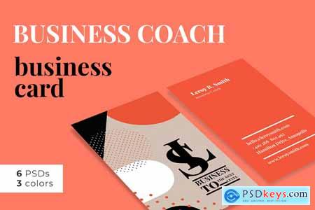 Business Coach Business Card 3874270