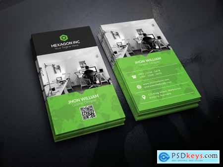 Corporate Business Card 3590939