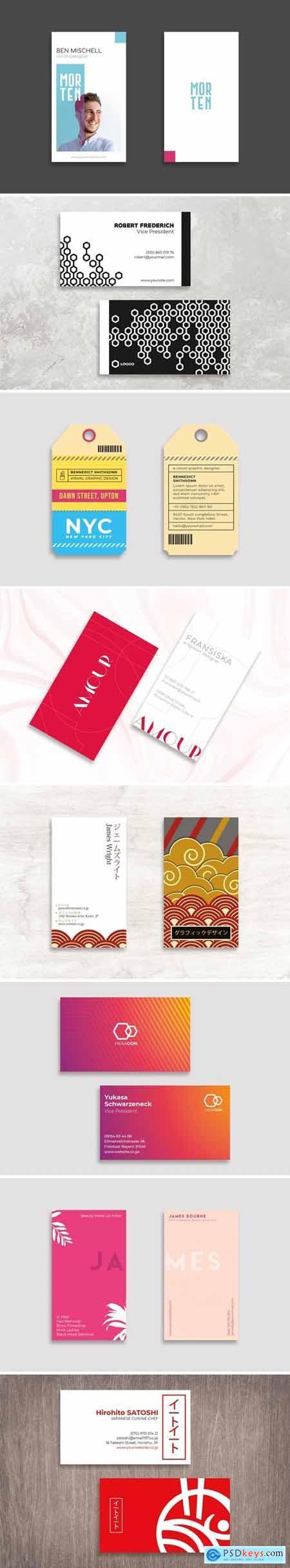 Business Card Design Professional Bundle 2