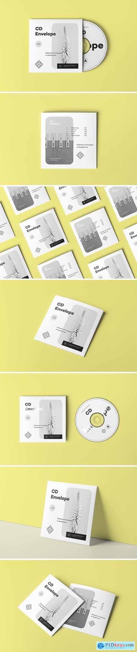 CD Envelope Mock-up 2