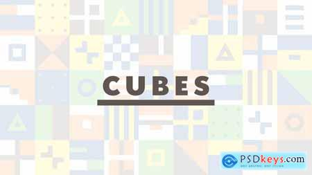 Videohive Cubes 23369159