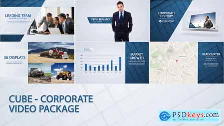 Videohive Cube - Corporate Video Package