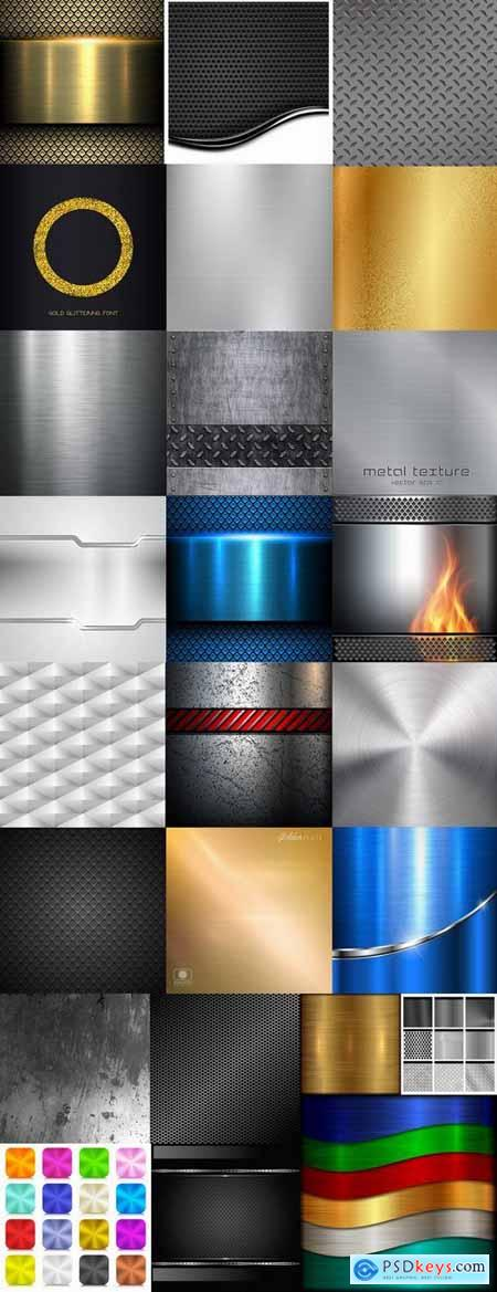 Metal background is pattern pattern frame vector image 25 EPS