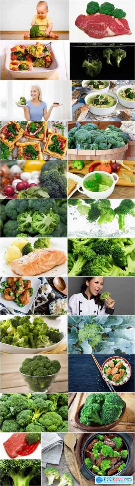 Broccoli cabbage food meal dish 25 HQ Jpeg
