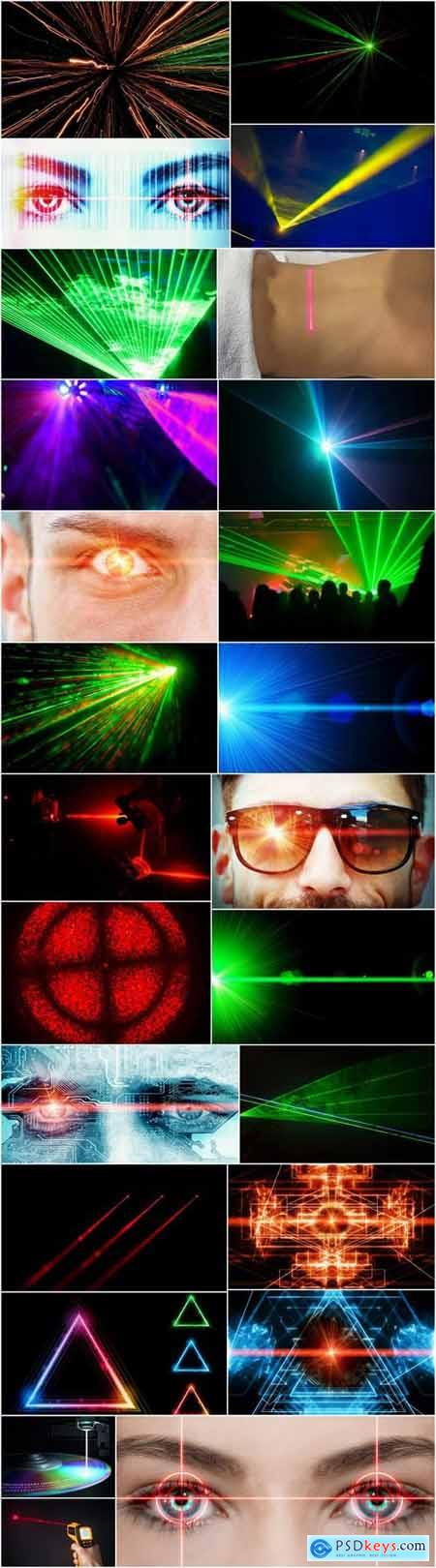 Laser beam light effect illumination 25 HQ Jpeg