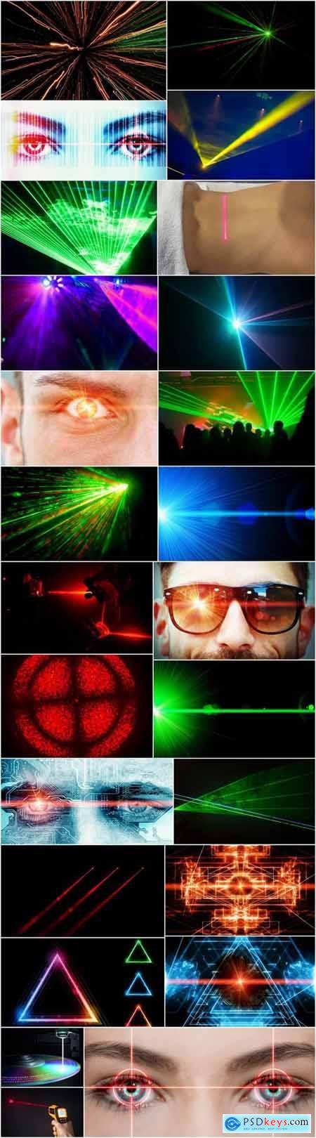 Laser beam light effect illumination 25 HQ Jpeg