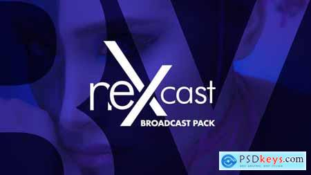 Videohive NEXcast Broadcast & TV Identity Package