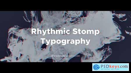 Videohive Rhythmic Stomp Typography