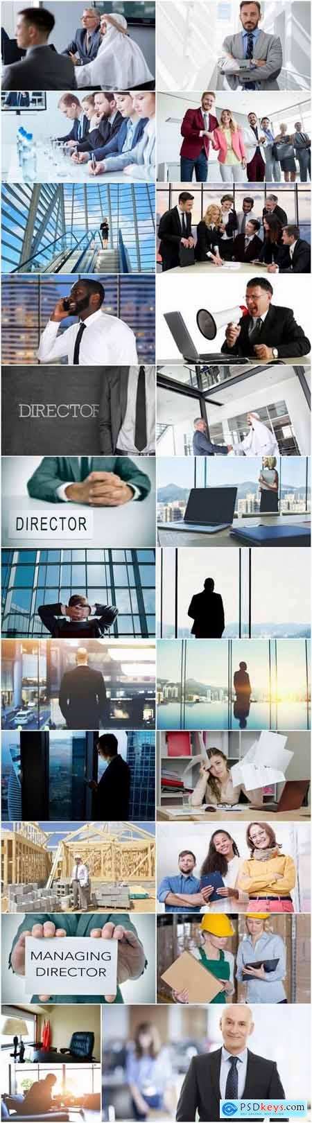 Director of the chief of financier boss 25 HQ Jpeg