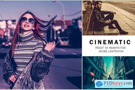 50 Cinematic Lightroom Presets