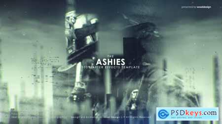 Videohive ASHES Cinematic Titles