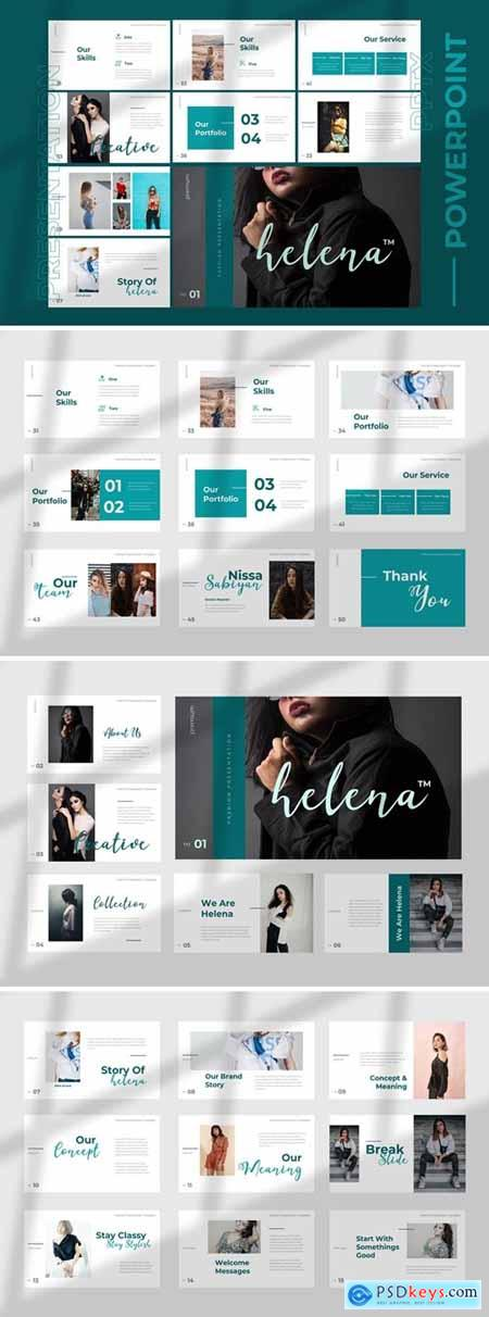 Helena - Powerpoint Google Slides and Keynote Templates