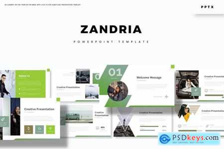 Zandria - Powerpoint Google Slides and Keynote Templates