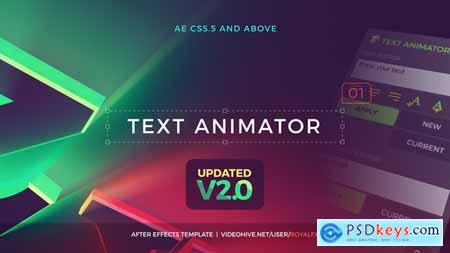 Videohive Text Animator 01 Creative Modern Titles v2