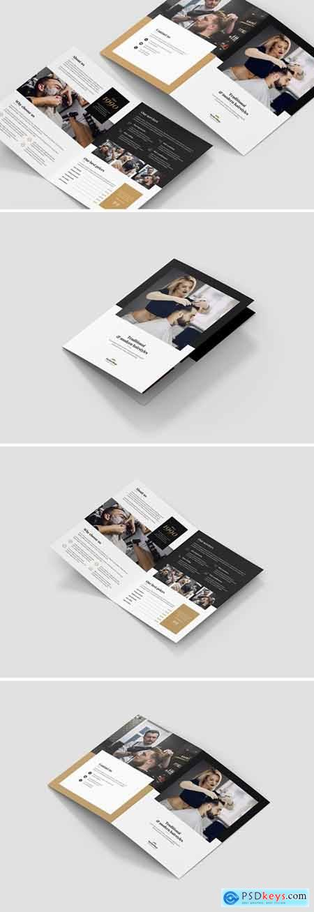 Brochure – Barber Shop Bi-Fold