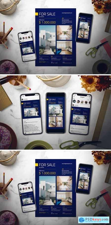 Real Estate Flyer Set