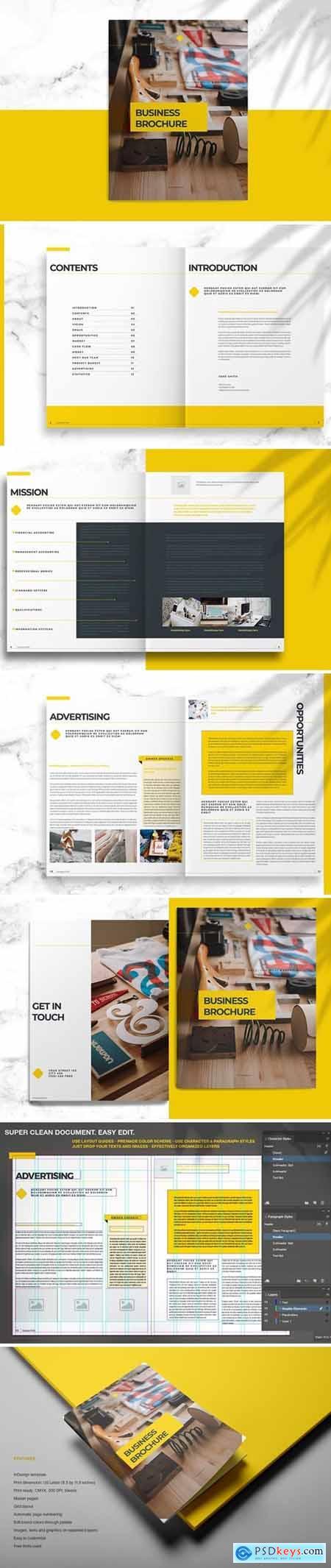 Yellow Business Brochure 3892349