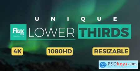 Videohive Unique Lower Thirds