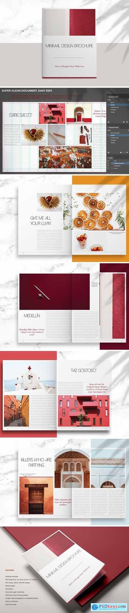 Minimal Design Brochure 3896523