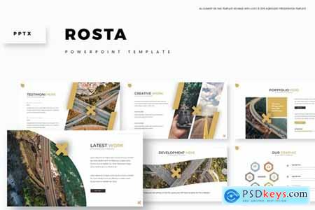 Rosta Powerpoint, Keynote and Google Slides Templates