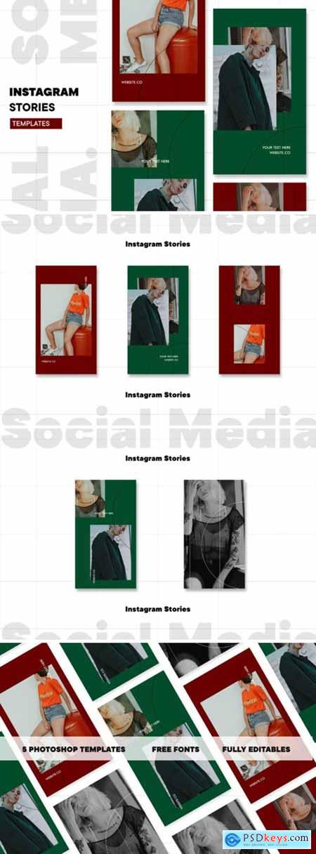 Instagram Story Template 1544321