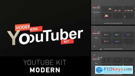 Videohive YouTuber Kit Modern