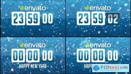 Videohive Countdown New Year 13560996