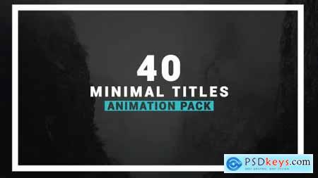 Videohive Minimalism 17510921