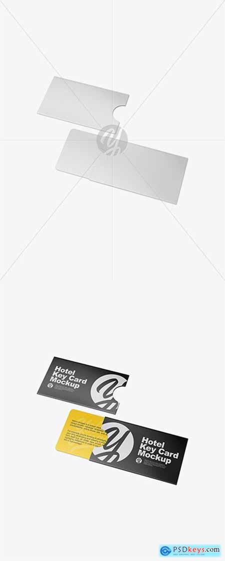 Two Key Card Holders Mockup 43367