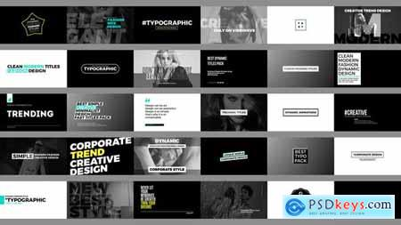 Videohive Trending Titles 22544294