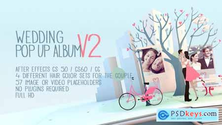 Videohive Wedding Pop Up Album Special Events V2