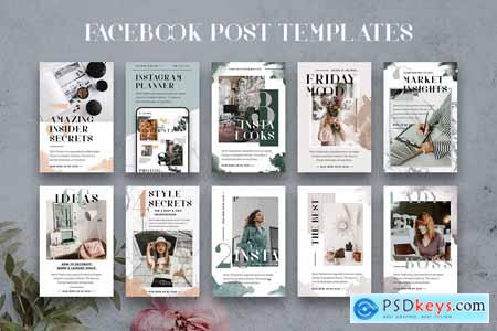 Infopreneur Facebook Post Templates 3895342