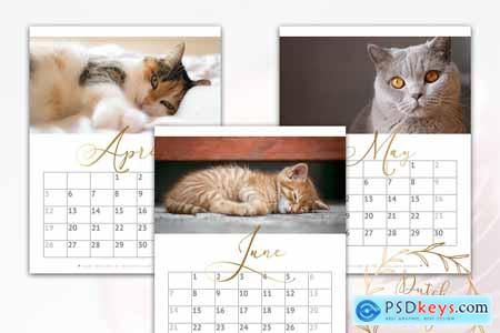 Printable Monthly Calendar 2020 Cats 3896026