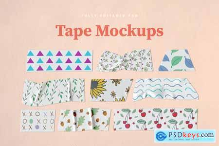 Washi Tape PSD Mockups 3821604