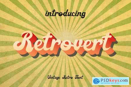 Creativemarket Retrovert - Retro Script (+Bonus) 3896533