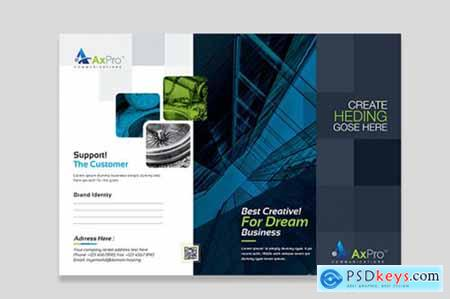 Corporate Business Presentation Folder 3598235