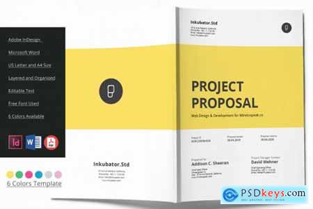Proposal Brochure 6 Colors 3597802