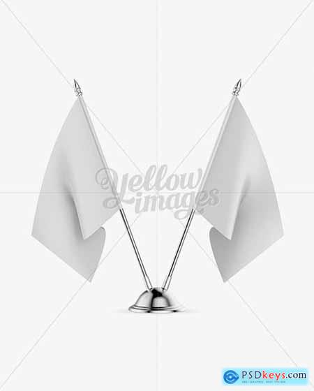 Desk Flags Mockup 14922