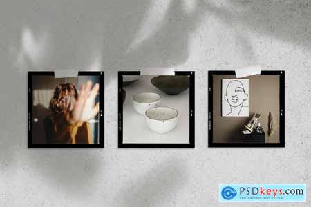 Moodboard film mockup 3687722