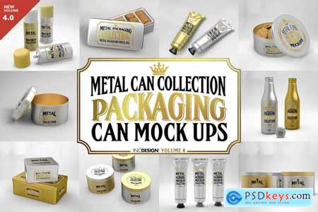 Vol4. Metal Can Mockup Collection 3884341