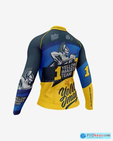 Women`s Cycling Jersey Mockup 45342